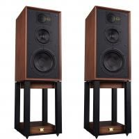Полочная акустика Wharfedale 85th Anniversary Linton with stands Antique Walnut